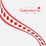 Canada Independence day design card vector. This Vector EPS 10 illustration is best for print media, web design, application design user interface and stock illustration