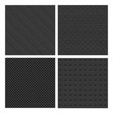 Metal Seamless Patterns Royalty Free Stock Images