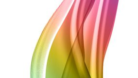 Abstract background, vector. Vector EPS10 with transparency. Abstract composition, curve lines with copy space. Lines with illusion of blur effect. Place for Vector Illustration