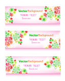 Vector eps10 header with place for text Royalty Free Stock Photography