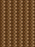 Vector Eps8, Brown Variegated Diamond Pattern Stock Photo