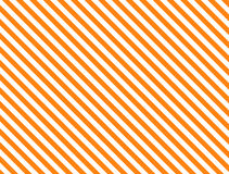 Vector EPS8 Diagonal Striped Background in Orange Stock Image