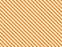 Vector EPS8 Diagonale Gestreepte Achtergrond in Sinaasappel Stock Afbeelding