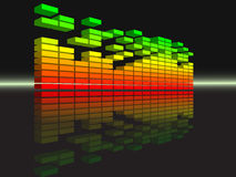 Vector equalizer Royalty Free Stock Image