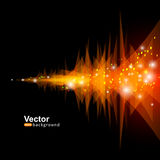 Vector equalizer art Royalty Free Stock Images