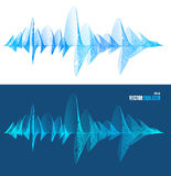 Vector equalizer, colorful musical bar set Stock Photo