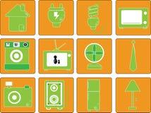 Vector, equipment in home Stock Photos