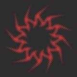 Vector a espiral abstrata de Sun Imagem de Stock Royalty Free