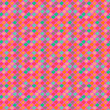 Vector ethnic pattern in bright colors. Vector ethnic pattern with random shapes in bright colors. Seamless texture for web, print, invitation card background vector illustration