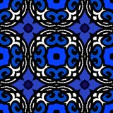 Vector ethnic pattern with Turkish motifs Royalty Free Stock Image