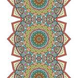 Vector ethnic seamless pattern Stock Photo