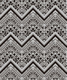 Vector ethnic seamless pattern with american Royalty Free Stock Photos
