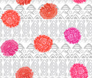 Vector ethnic seamless pattern american traditional ornament royalty free stock image