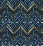 Vector ethnic seamless tribal boho pattern Royalty Free Stock Image