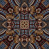Vector  Ethnic Tribal Seamless Pattern. Vector vintage Ethnic Tribal Abstract Seamless  Pattern Stock Image