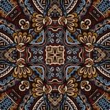 Vector  Ethnic Tribal Seamless Pattern Stock Image