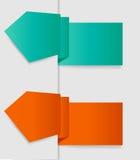 Vector etiketten voor bedrijfsontwerp. EPS 10. Royalty-vrije Stock Afbeelding