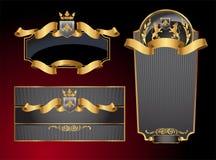 Vector etiquetas Imagens de Stock Royalty Free