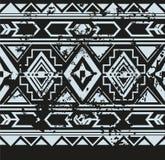 Vector etnisch naadloos patroon met Amerikaan Stock Foto