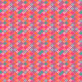 Vector etnisch patroon in heldere kleuren. vector illustratie