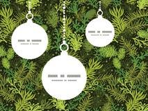 Vector evergreen christmas tree Christmas Stock Photos