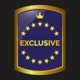 Vector exclusivo de la etiqueta Fotografía de archivo libre de regalías