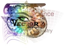 Vector eye Royalty Free Stock Images