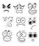 Vector Eye Action Style. And Mood Royalty Free Stock Photography