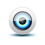 Vector eye icon Royalty Free Stock Image