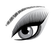 Vector Eye Icon Stock Images