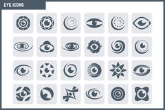Vector Eye Icon Set Royalty Free Stock Images