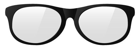 Vector eyeglasses Royalty Free Stock Photography