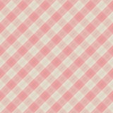 Vector fabric red & white seamless background Royalty Free Stock Photography