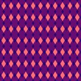 Vector fabric rhombus abstract seamless background royalty free illustration