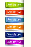 Vector Fabric Tag Label Stock Photos