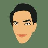 Vector Face Man Stock Photo