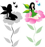 Vector fairy Royalty Free Stock Image