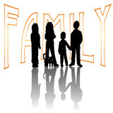 Vector family Stock Image