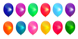 Vector Fancy Balloon-Vector illustrations Royalty Free Stock Images