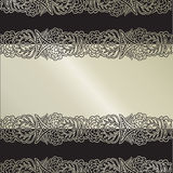 Vector fancy vintage background Royalty Free Stock Images