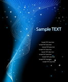 Vector fantasieontwerp met plaats voor uw tekst Stock Foto