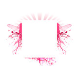 Vector fantasy decorations frame Stock Photo