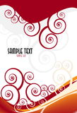 Vector fantasy design with place for your text Stock Images