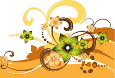 Vector fantasy flower  Stock Photography