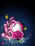 Vector fantasy flower illustration Stock Image