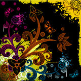 Vector fantasy flower illustration Stock Image