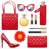 Vector Fashion Accessories Royalty Free Stock Image