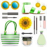 Vector Fashion Accessories Set 8 Stock Image