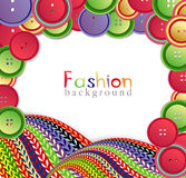 Vector fashion background Royalty Free Stock Photo