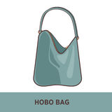 Vector fashion bag isolated on white Stock Image